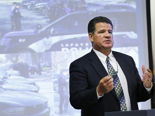 Lafayette police are investigating an odd threat to Lafayette Mayor Tony Roswarski. The threat was mailed to Lafayette Fire Station 8 at Ninth Street and Veterans Memorial Parkway.