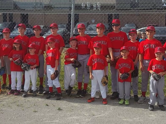 It was a day of baseball and friendship for players on the GCYBSA 12-U Angels and T-ball Angels.
