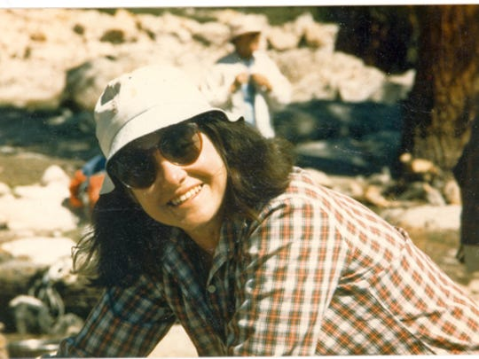 Undated photo of Marge Sill, a founding board member of Friends of Nevada Wilderness, thought to be from the 1970s.