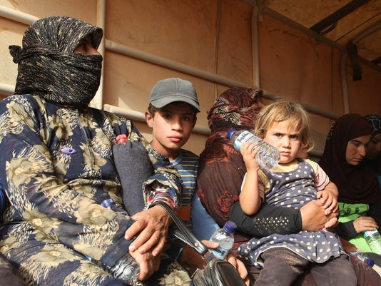EPA JORDAN SYRIA REFUGEES ARRIVAL POL MIGRATION JOR