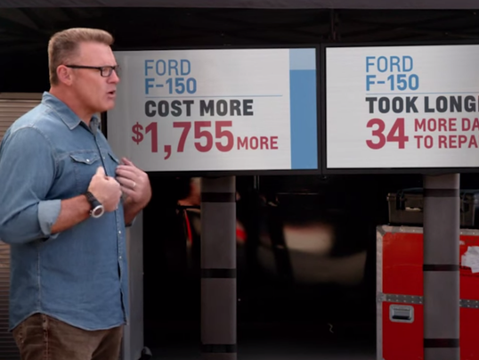 GM Ford rivalry heats up Chevy takes shots at F150
