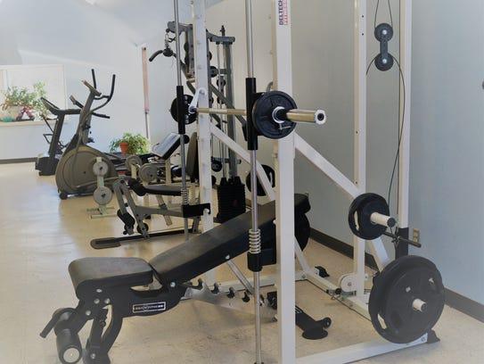 Exercise equipment at Ruidoso Community Center