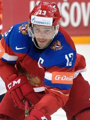 Pavel Datsyuk  / ALEXANDER NEMENOVALEXANDER NEMENOV/AFP/Getty Images