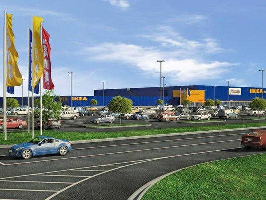 Groundbreaking for IKEA
