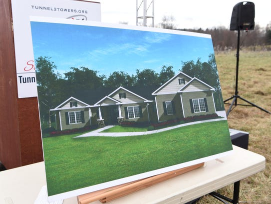 "A rendering of the new ""smart home"" former Army Staff"