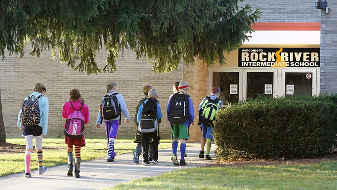 Rock River Intermediate School is one of the many facilities in the Waupun Area School District in need of repairs and upgrades. The school district is headed for referendum in November, hoping voters approve an estimated $30 million to address aging and outdated buildings.
