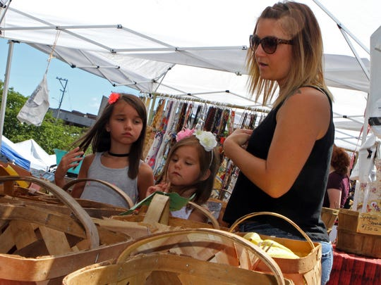 The Clarksville Downtown Market is open every Saturday through October.