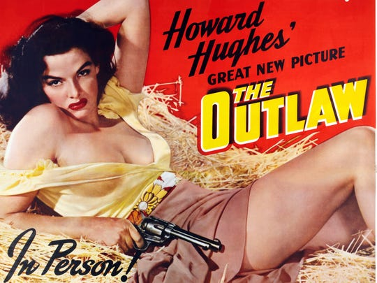 "There was a lot of gunplay and a lot of Jane Russell in ""The Outlaw."""