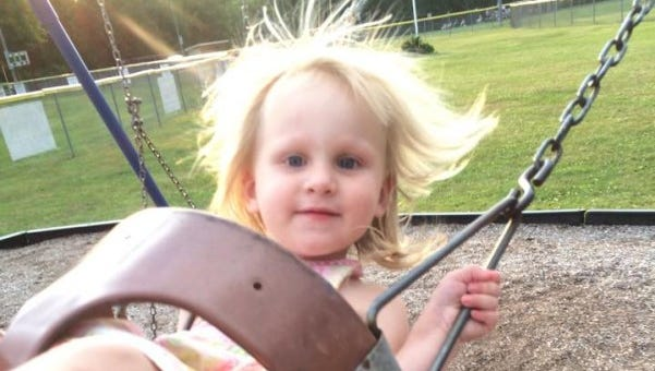An online fundraiser was started for the family of Elizabeth Fuehring, a 2-year-old girl who was killed in a shuttle-bus collision Sunday at Alstede Farms in Chester Township, as identified by a family friend.