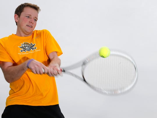 NKU's Nick Lang has Cystic Fibrosis, a life-threatening genetic disease that affects his lungs and digestive system.