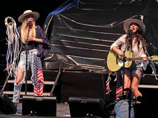 The Sisterhood performs at the BMO Harris Pavilion