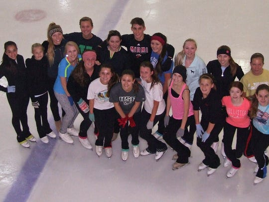 The Space Coast Hurricanes junior Theatre on Ice team will compete in France on Friday.