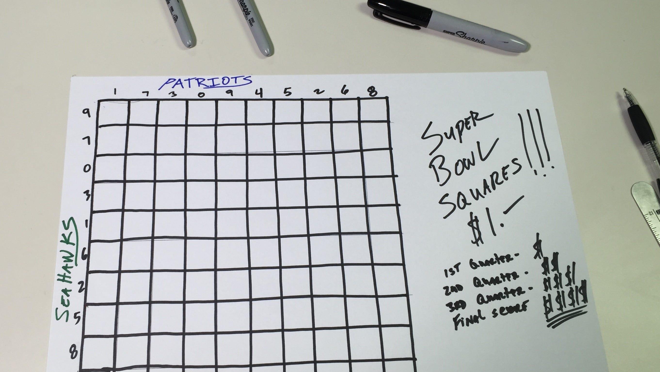 square betting board