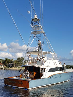 Champagne Lady led by Capt. Josh Chaney and owned by Tony Ingram of Stuart was top boat on the second day of the Pirates Cove Sailfish Classic with five sailfish releases.