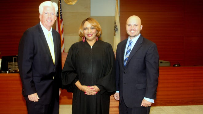 Prosecutor Sean F. Dalton,  Judge Christine Allen-Jackson,  Assistant Prosecutor Douglas Pagenkopf