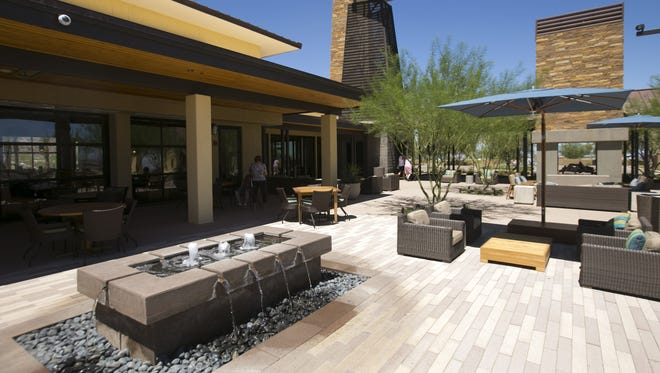 The Vic Bar + Kitchen in Verrado in Buckeye is a stylish place for a romantic night out.