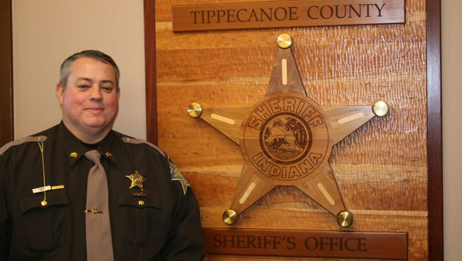 The Tippecanoe County Sheriff's Merit Board promoted Travis Dowell Friday to lieutenant. Dowell has been a deputy since 1993.
