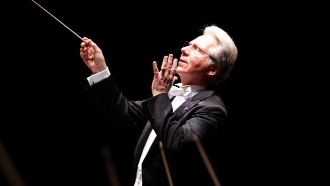 John Mauceri will be the guest conductor for the Nov. 19 concert in Oxnard, which will celebrate Leonard Bernstein's 100th birthday. Mauceri, former Hollywood Bowl conductor, was Bernstein's longtime protégé and collaborator.