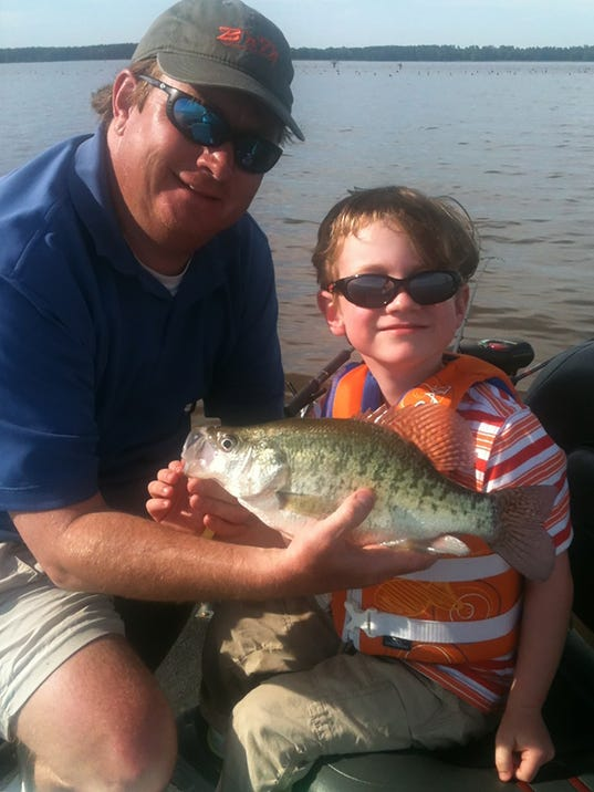 Conditions come together for barnett crappie for Ross barnett reservoir fishing report