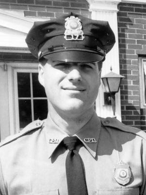 First Sgt. Michael Welch as a new recruit in 1986.