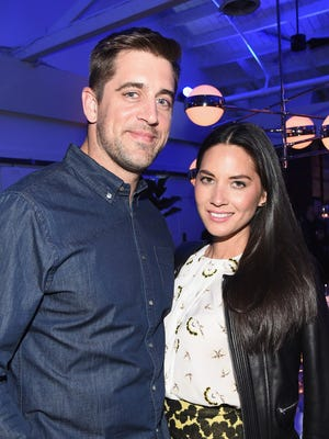 Aaron Rodgers and Olivia Munn aren't engaged after all. Munn shot down the OK Magazine report Tuesday afternoon.