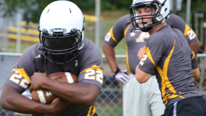 AISA All-State running back Eric Graham leads Autauga Academy's high-powered attack.