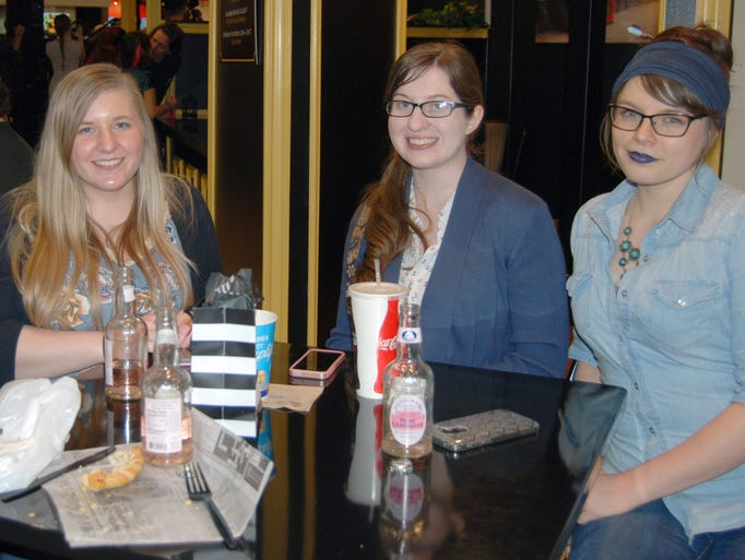 Laureh Barger, Jessica Sidebottom, Jamie Chastain and