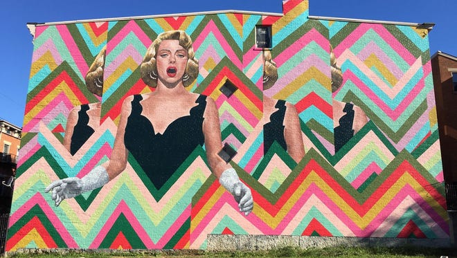 Here is a look at the completed ArtWorks mural honoring Rosemary Clooney, now up in Over-the-Rhine. Natalie Lanese was lead artist on the project.