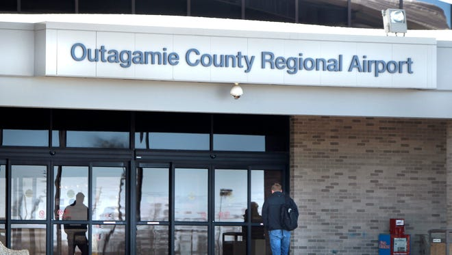 Outagamie County Regional Airport February 25, 2014 in Greenville, Wis. Wm.Glasheen/Post-Crescent Media
