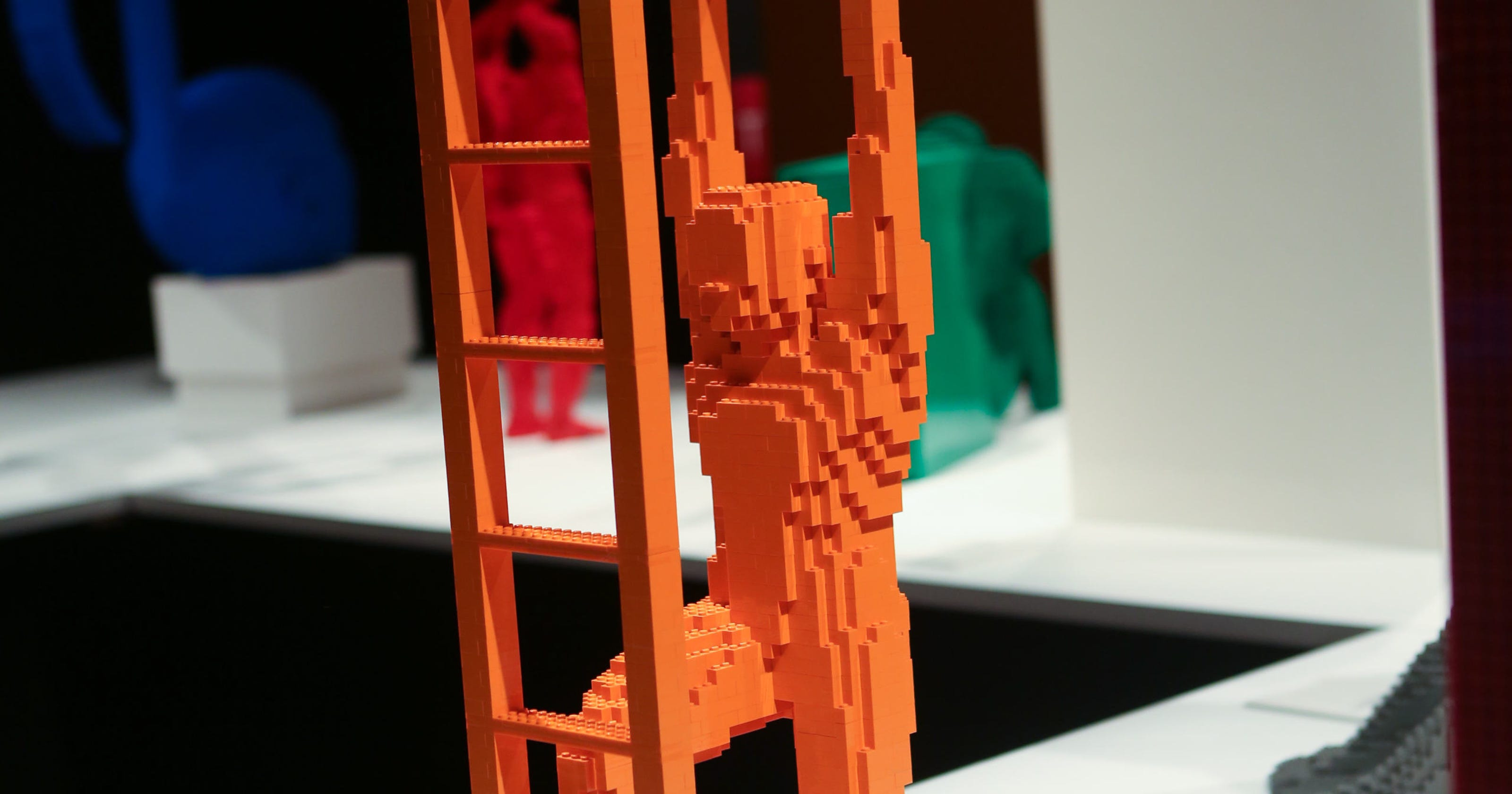 Franklin Institute: World's largest display of LEGO art