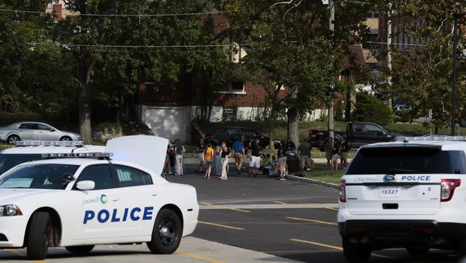The Cincinnati Zoo & Botanical Garden was evacuated Thursday afternoon after a reported suspicious package.