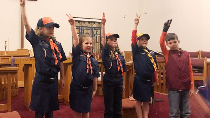 4 girls break barriers by becoming first to join Cub Scouts in Western North Carolina
