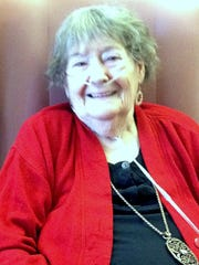 Doris Robertson, 92, always knew her stay at the Corning Center for Rehabilitation and Healthcare wouldn't be permanent.