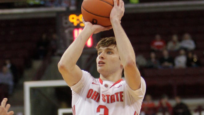 Austin Grandstaff will transfer from Ohio State and has interest from Butler.