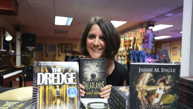 Award-winning author Jaimie Engle will lead a series of free writing workshops. Photo provided by Jaimie Engle.
