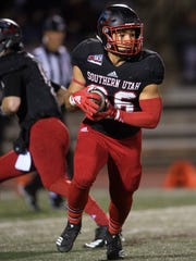 Southern Utah University competes against Weber State