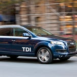 """An Audi SUV with what was supposed to have been a """"clean diesel"""" engine."""