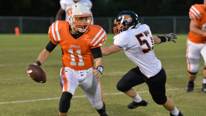 Justin Winn has helped lead MTCS to a 6-0 record.