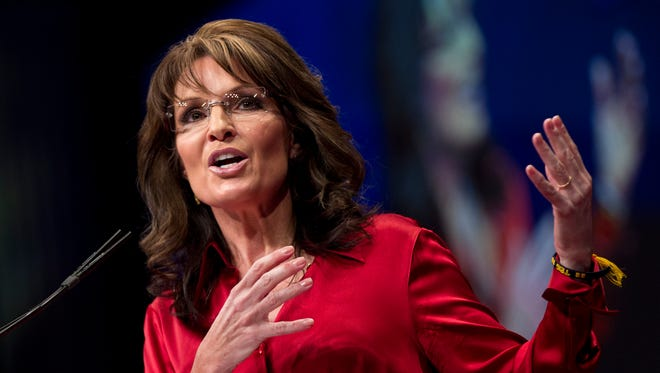 Sarah Palin is a former Alaska governor and the 2008 GOP vice presidential nominee.