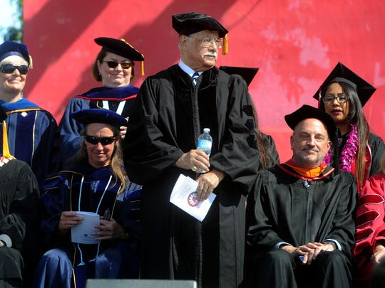 Joe Mendoza receives an honorary doctorate from CSU Channel Islands on Saturday. He has devoted his long career to educating Ventura County's most vulnerable students — migrant students, foster youths, the homeless and others.