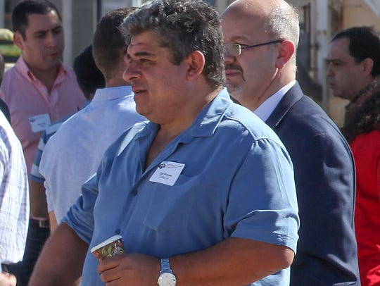 ZGlobal founder and president Ziad Alaywan attends