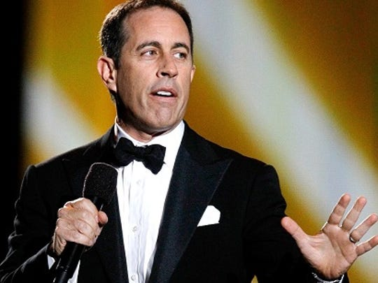 Jerry Seinfeld in an Associated Press file photo.