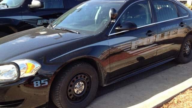 Marshfield police car file photo