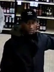 Evesham Police are seeking to identify two men who