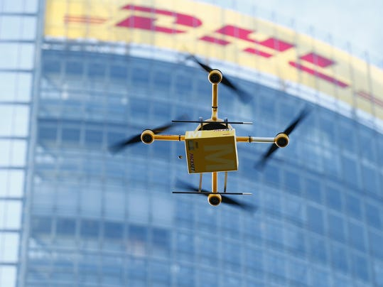 Deutsche Post Tests Deliveries With Drones