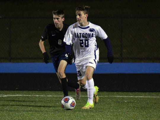 Dallastown graduate Luke Nelson is the second-leading scorer for the Penn State Altoona men's soccer team.