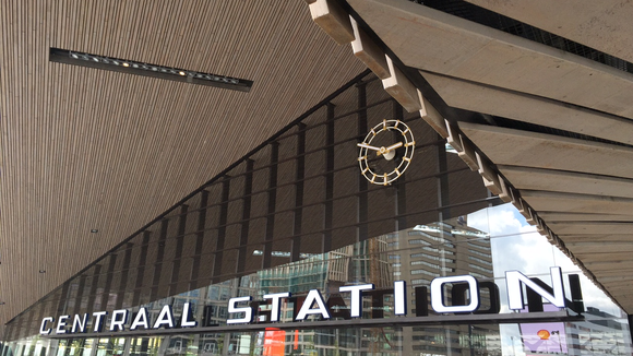The new central Station in Rotterdam