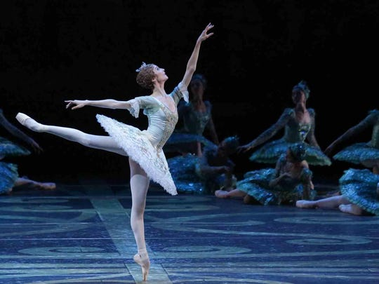 "The Bolshoi Ballet broadcasts its production of ""Sleeping Beauty"" live from Moscow at 12:55 p.m. Sunday."