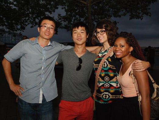 Wenlong, Tao, Laura and Ernestine.