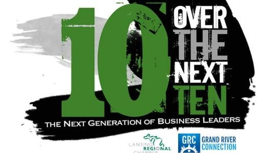 The 10 Over the Next Ten awards recognize young professionals who are making a difference in their community.